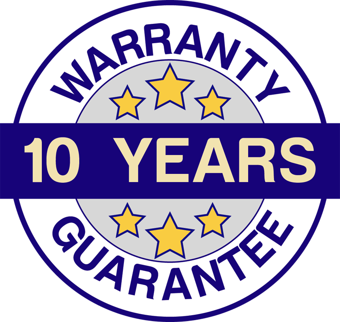 warranty 10years guarantee