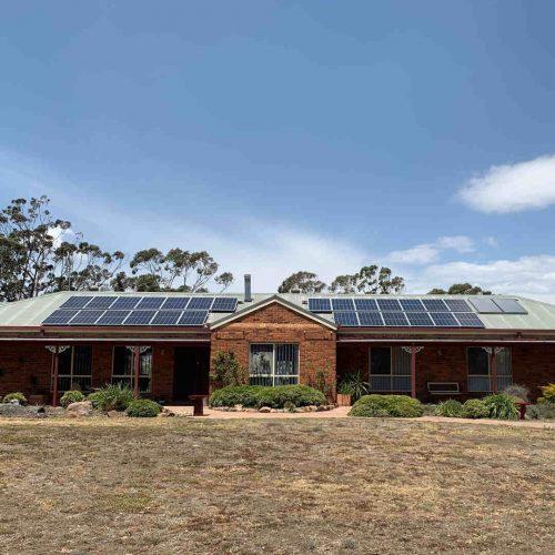 Canadian Solar CS6K 290 2 500x500 - Solar Panel Installation at Gowrie
