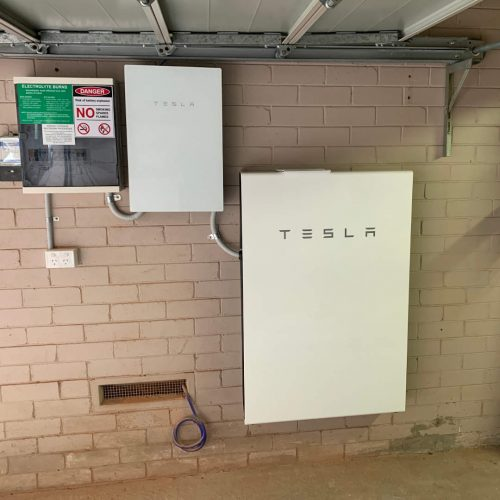 Tesla Powerwall 2 Battery 13.5kWh 2 500x500 - Tesla Powerwall 2 Home Battery Installation at Wahroonga