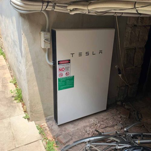 Tesla Powerwall 2 Battery 2 500x500 - Tesla Home Battery & Solar Panel Installation at Mosman