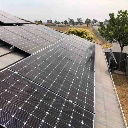 LG NeON2 LG345N1C A5 3 500x500 - Solar Panel Installation at The Ponds