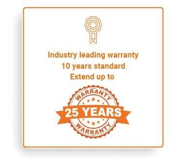 25 years warranty - Enphase